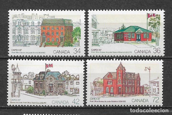 CANADA 1987 ARQUITECTURA ** MNH - 7/28 (Sellos - Extranjero - América - Canadá)