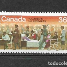 Sellos: CANADA 1987 VOLUNTEERS WEEK ** MNH - 7/28. Lote 147694522