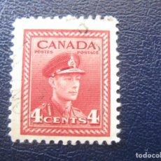 Sellos: CANADA, 1943 JORGE VI, YVERT 209. Lote 148537330
