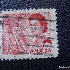 Sellos: CANADA, 1967 ISABEL II, YVERT 381. Lote 148781118