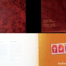 Sellos: 1976.-CARPETILLA CON ESTUCHE DE 5 SERIES DE JJ.OO. DE MONTREAL DE RECUERDO A TODOS LOS COLABORADORES. Lote 149647202