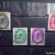 Sellos: CANADÁ 1898, REINA VICTORIA. YT 62/65. Lote 149688022