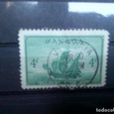 Sellos: CANADÁ 1948, EL BARCO DE JEAN CABOT, EL MATTHEW. YT 229. Lote 149944470