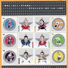 Sellos: [CF9041] CANADÁ 2005, HB ESTRELLA DE LA NHL (MNH). Lote 150507862