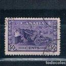 Sellos: SELLOS USADOS CANADA 1942/1943 YVES 217. Lote 150702042