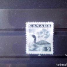 Sellos: CANADÁ 1957, PROTECCIÓN DE LA NATURALEZA, FAUNA, YT 296. Lote 150778210