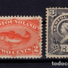Sellos: SELLOS DE TERRANOVA (NEWFOUNLAND) YES 41 Y 45 * 130€. Lote 151173890