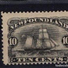 Sellos: SELLOS DE TERRANOVA 1887/1896 (NEWFOUNLAND) YVES 43*. Lote 151174166