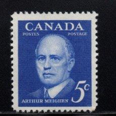 Sellos: CANADA 320** - AÑO 1961 - HOMENAJE A ARTHUR MEIGHEN . Lote 151406498