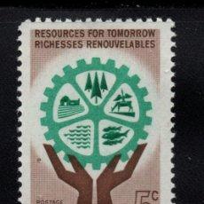 Sellos: CANADA 322** - AÑO 1961 - RECURSOS RENOVABLES. Lote 151406634