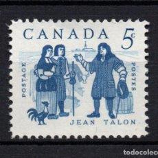 Sellos: CANADA 325** - AÑO 1962 - JEAN TALON, INTENDENTE DE LA NUEVA FRANCIA. Lote 151406746