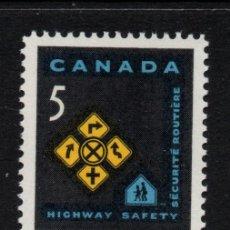 Sellos: CANADA 371** - AÑO 1966 - CONFERENCIA DE SEGURIDAD VIAL. Lote 151407210