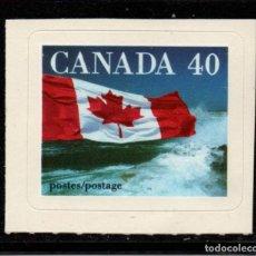 Sellos: CANADA 1175** - AÑO 1991 - BANDERA. Lote 151410986