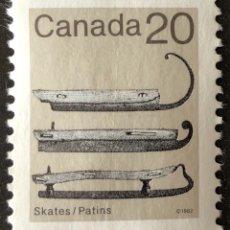 Sellos: SELLO NUEVO DE CANADÁ 20 1982 SIN GOMA- PATINES. Lote 152123389