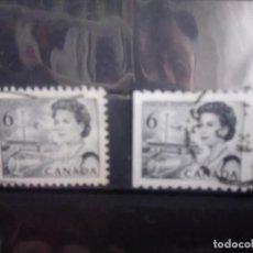 Sellos: CANADÁ 1967 ISABEL II, DENTADO 11 1/2 Y 9 1/2 HORIZONTAL . Lote 153337958