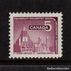 Sellos: CANADA 374** - AÑO 1966 - CONFERENCIA PARLAMENTARIA DE LA COMMONWEALTH. Lote 153972718