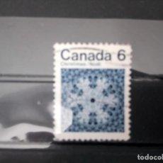 Sellos: CANADÁ 1971, NAVIDAD, YT 465. Lote 154604834