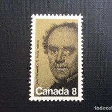 Sellos: CANADA Nº YVERT 499*** AÑO 1973. CENTENARIO MUERTE DE JOSEPH HOWE, PERIODISTA, POETA ,POLITICO. Lote 155318390