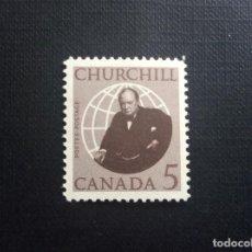 Sellos: CANADA Nº YVERT 364*** AÑO 1965. MUERTE DE SIR WINSTON CHURCHILL. Lote 155708182