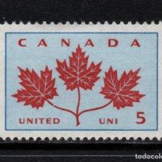Sellos: CANADA 342** - AÑO 1964 - CENTENARIO DE LA UNIDAD. Lote 155807590
