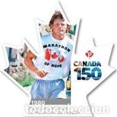 Sellos: SELLOS USADOS DE CANADA, YT 3380, 3381, 3382, 3383, 3387. Lote 156994070