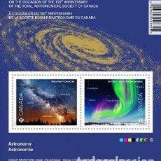Sellos: HB** DE CANADA 2018, ASTRONOMIA. Lote 156995118