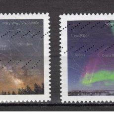 Sellos: SELLOS USADOS ADESIVOS DE CANADA 2018, ASTRONOMIA. Lote 156995570