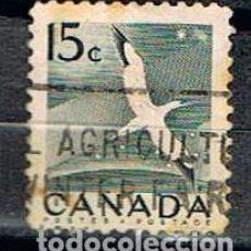 Sellos: CANADA Nº 284, ALCATRAZ COMUN, USADO. Lote 158264430