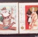 Sellos: CANADA NAVIDAD SERIE DE SELLOS USADOS. Lote 158948141