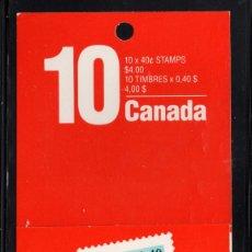 Sellos: CANADA CARNET 1168A** - AÑO 1990 - BANDERA NACIONAL. Lote 166536386