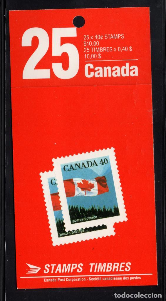 CANADA CARNET 1168A II** - AÑO 1990 - BANDERA NACIONAL (Sellos - Extranjero - América - Canadá)
