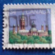 Sellos: CANADÁ 1985. STANLEY & GIBBONS 1155. PARLAMENTO. USADO. Lote 168974844