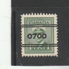 Sellos: CANADA 1943-48 - YVERT NRO. 205 PREFRANQUEADO - USADO -. Lote 170941897