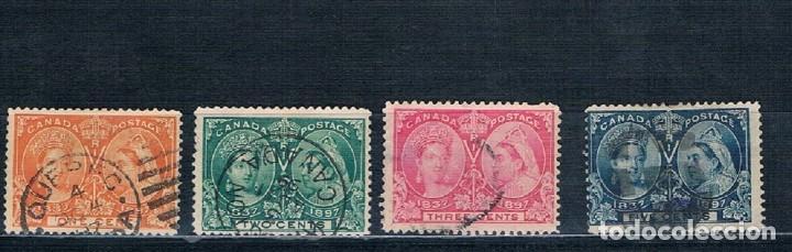 Sellos: PEQUEÑA COLECCION DE SELLOS DE CANADA REINA VICTORIA Y EDUARDO VII 7 FOTOGRAFÍAS - Foto 3 - 171148000