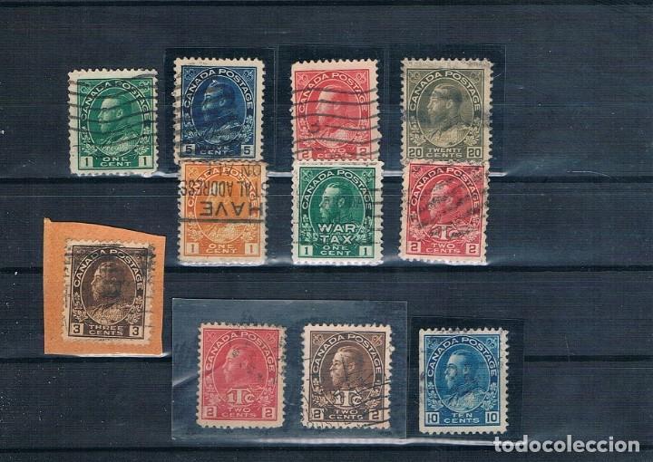 Sellos: PEQUEÑA COLECCION DE SELLOS DE CANADA REINA VICTORIA Y EDUARDO VII 7 FOTOGRAFÍAS - Foto 7 - 171148000