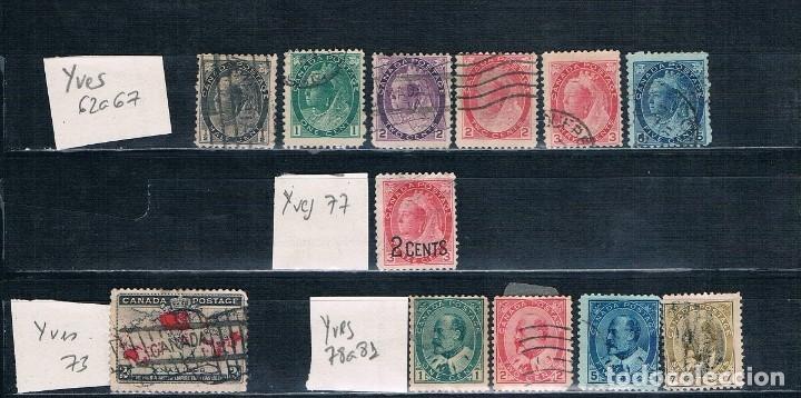Sellos: PEQUEÑA COLECCION DE SELLOS DE CANADA REINA VICTORIA Y EDUARDO VII 7 FOTOGRAFÍAS - Foto 6 - 176702627