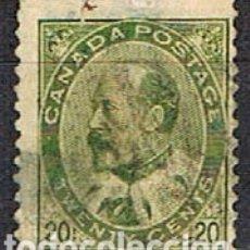 Sellos: CANADA Nº 73, EDUARDO VII, (AÑO 1903), USADO. Lote 177048589