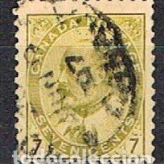 Sellos: CANADA Nº 71, EDUARDO VII, (AÑO 1903), USADO. Lote 177048644
