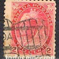 Sellos: CANADA Nº 56, LA REINA VICTORIA (AÑO 1898), USADO. Lote 177048877