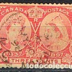 Sellos: CANADA Nº 32, 60 ANIVERSARIO DE LA CORONACIÓN DE LA REINA VICTORIA (AÑO 1897), NUEVO SIN GOMA. Lote 177049088