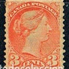 Sellos: CANADA Nº 19, LA REINA VICTORIA (AÑO 1873), NUEVO SIN GOMA. Lote 177049577
