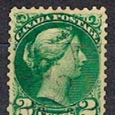 Sellos: CANADA Nº 12, LA REINA VICTORIA (AÑO 1870), USADO. Lote 177049672