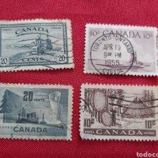 Sellos: LOTE DE SELLOS DE CANADÁ. Lote 177712549