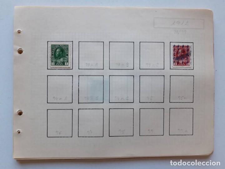 Sellos: Canada 12 hojas de Album de sellos - Foto 5 - 179345307