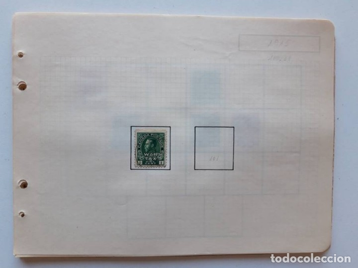 Sellos: Canada 12 hojas de Album de sellos - Foto 8 - 179345307