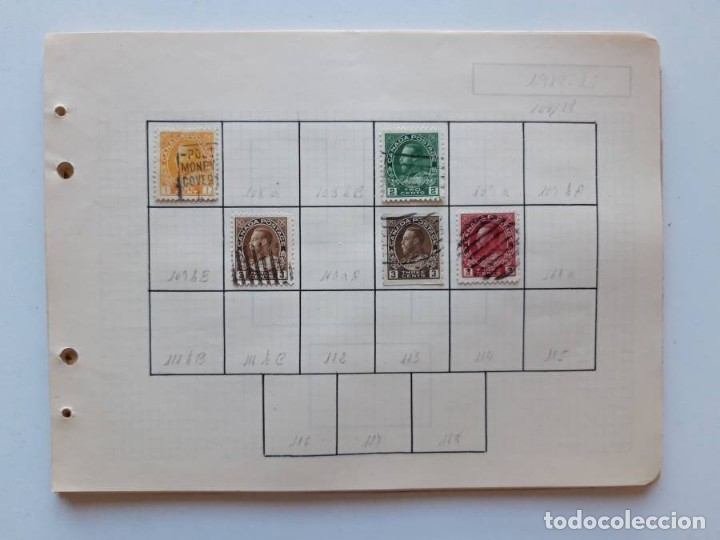 Sellos: Canada 12 hojas de Album de sellos - Foto 10 - 179345307