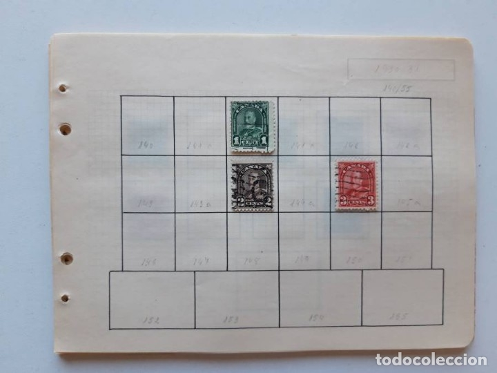 Sellos: Canada 12 hojas de Album de sellos - Foto 14 - 179345307