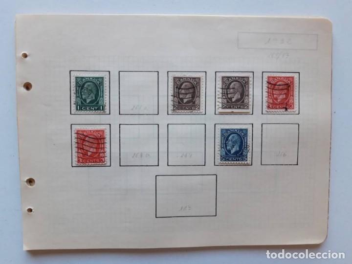 Sellos: Canada 12 hojas de Album de sellos - Foto 16 - 179345307