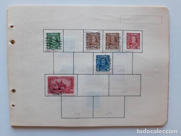 Sellos: Canada 12 hojas de Album de sellos - Foto 19 - 179345307