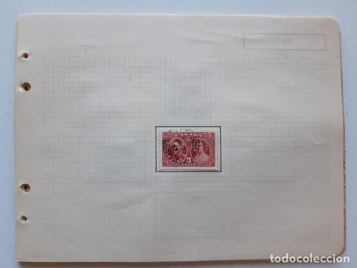 Sellos: Canada 12 hojas de Album de sellos - Foto 23 - 179345307